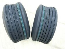 Two 15x600 6 Hay Tedder Farm Implement Ag Tire Rib 10 Ply Rate 1015 Lb Capacity