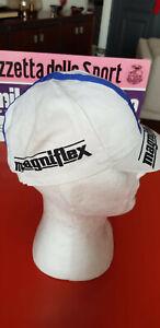 Vintage 1974 MAGNIFLEX cycling cap casquette maglia ciclismo Merckx
