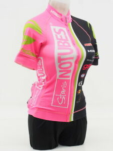 Verge Sport Women's Stans No Tubes Short Sleeve Cycling Size Medium Pink/Black