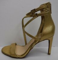 Jessica Simpson Size 5.5 Gold Sandals Heels New Womens Shoes
