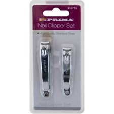 MENS Grooming 2 Pack x Finger Toe Nail Clippers Set Stainless Steel Clipper Men
