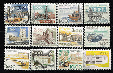 Portugal Country View Castles 12 stamps long set 1960