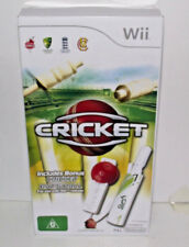 Boxed Cricket Wii PAL *Sealed* With Bat and Ball
