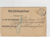 German Postal History Stamps Cover Ref: R4753
