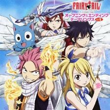 USED Fairy Tail Opening   Ending Theme Songs  Vol.1 CD