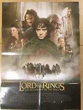 �VeryRare】The Lord of the Rings: The Fellowship of the Ring A1 Original Poster