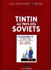 LES ARCHIVES TINTIN ** TINTIN AU PAYS DES SOVIETS  ** NEUF SS BLISTER  HERGE