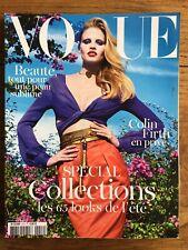 VOGUE PARIS 914 Fev 2011 - Spécial Collections Lara STONE GUCCI Colin FIRTH MODE