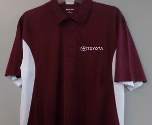 TOYOTA Motors Mens Embroidered Polo Shirt XS-6XL, LT-4XLT Camry Tundra New
