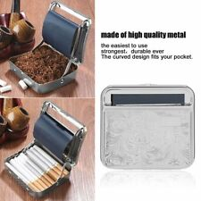Metal Automatic Cigarette Tobacco Roller Roll Rolling Machine Box Case Tin GN