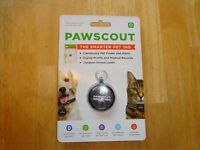 Pawscout Smart Pet Tag ! Sealed   Free s/h
