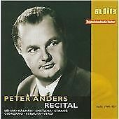 PETER ANDERS RECITAL, PETER ANDERS, Audio CD, New, FREE & Fast Delivery