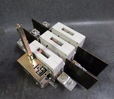 ABB SWITCH GENERAL PURPOSE 400 AMP 600 VAC 3 PHASE 350 HP MODEL: OETL-NF400