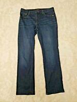 Chaps Denim Women's Size 10 Dark Blue Denim Jeans Madden Straight