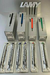Lamy M66 Tintenroller Mine M u B Ersatzmine in 4 Farben für dialog swift u  tipo