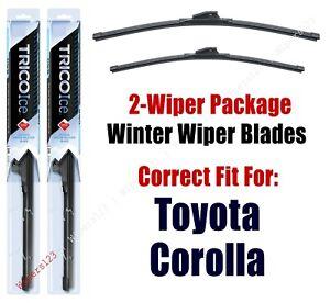 1993-2001 Toyota Corolla WINTER Wipers 2-Pk Super-Premium Snow Ice 35200/35180