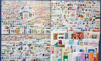 BULGARIA 1500 DIFFERENT STAMPS + 50 SOUVENIR SHEETS, MOSTLY CTO, FREE SHIPPING