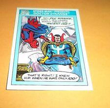 Spider-Man Presents: Doctor Strange # 158  1990 Marvel Universe Series 1 Card