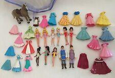 Disney Princess Fashion Cinderella 36 piece Set Aurora Belle Snow White Jasmine