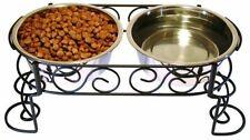Comederos y bebederos de acero inoxidable para perros