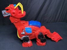 Hasbro Transformers Rescue Bots Heatwave Dinobot Dinosaur Figure 2013  Works