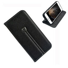 Apple iPhone 8 Case Cover Leather Flip Wallet Card Holder Pocket Kick Stand New