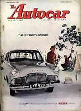 AUTOCAR MAGAZINE 1960-2/9 FORD PERFECT ROAD TEST - KENTISH 100 REPORT