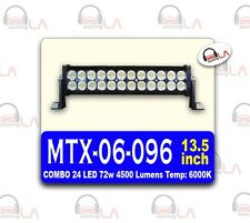 24 LED 72w 4500 LUMINS Temp:6000K 13.5INCH