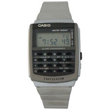 Casio CA506-1 Men's Classic Stainless Steel Digital Databank Calculator Watch