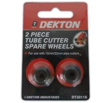 2pc Tube Cutter Spare Wheels - Slice Replacement Copper Tubes Cutting Dekton