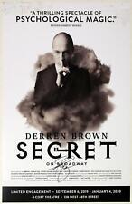 Derren Brown Signed DERREN BROWN: SECRET Poster