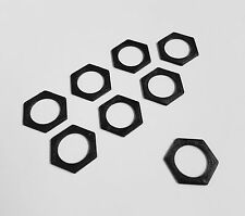 8X RC Car 17mm Wheel Hex 1mm Shim Track Width Spacer for 1/8 Truck Buggy Truggy