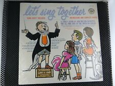 The Glow-Tones ‎– Let's Sing Together (Golden Records LP 53) no booklet