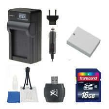 LP-E8 Battery and Charger + 16GB Value Bundle for Canon T2i T3i T4i T5i