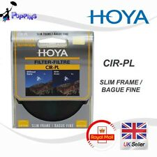 Genuine Double Threaded  HOYA 37mm Slim Frame CPL Circular Polarizer 37mm