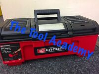 """FACOM NEW RELEASE SELF CLOSING 16"""" TOOLBOX 39 X 22 X 16cm - WITH INNER TRAY"""