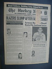 The Hockey News January 30, 1970 Vol.23 No.17 Voss Speck Crew Gould Jan '70