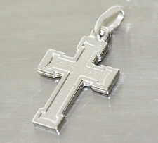 Kleines Kreuz Silber 925 massiv - Silberkreuz Anhänger - Kettenanhänger Kreuz