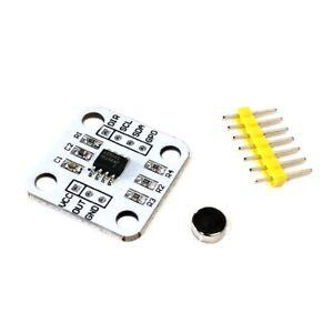 1pcs AS5600 magnetic encoder magnetic induction angle measurement sensor module