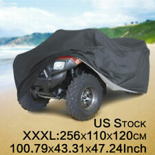 XXXL 190T Waterproof ATV Storage Cover Universal Fit Polaris Honda Yamaha Suzuki