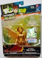 "BEN 10 BEN10 ULTIMATE GOLD BIG CHILL 4"" ACTION FIGURE LIMITED EDITION NEW"