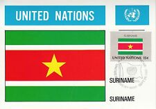 United Nations Nr. 353 Surinam - Flagge / Maxi-Card