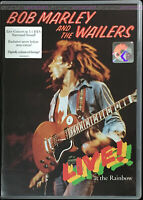 BOB MARLEY AND THE WAILERS Live At The Rainbow MALAYSIA DVD RARE NEW FREE SHIP