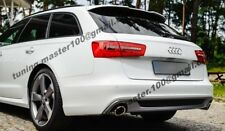 AUDI A6 C7 ESTATE ROOF SPOILER RS6 look  +++NEW+++NEW+++NEW+++
