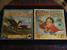Harry Potter - First and Second Printed Calendars - 2001 + 2002 - New & Sealed!