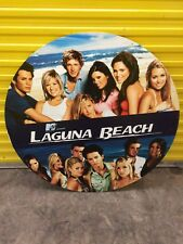 "Laguna Beach Tv Show Promo Poster 42"" Diameter Foam Backed Rare See Pics Mtv"