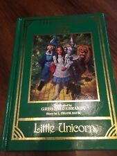 The Wizard of Oz Hardback Book Baum Hilderbrant Little Unicorn 1988 Color Pics