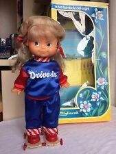 bambola MIGLIORATI nuova in scatola anni 80/90 -da collezione- a batteria