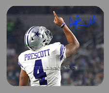 Item#4161 Dak Prescott Pointing Dallas Cowboys Facsimile Autographed Mouse Pad