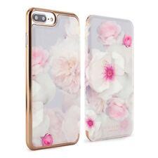 OFFICIAL Ted Baker Folio Case for iPhone 7 Plus 6 Plus 6S Plus Chelsea Pale Grey